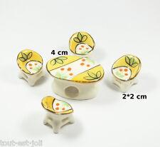 salon en porcelaine pour vitrine, collection, décoration, miniature  **S11-03