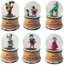 More details for disney store mystery mini snow globe xmas carol mickey minnie mouse ornament new