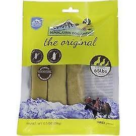 Himalayan ORIGINAL CHEESE Dog Chews - (1) 3 ct Long Lasting Treats - EX 2023+