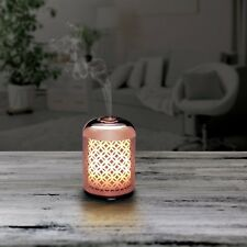 madebyzen NITRUM ROSSO  Aroma Diffuser : Rose Gold Patterned Glass