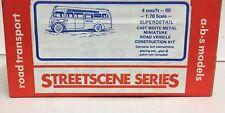ABS STREETSCENE  AEC REGAL 10T10(LONDON TRANSPORT) WHITE METAL BUS KIT No R265