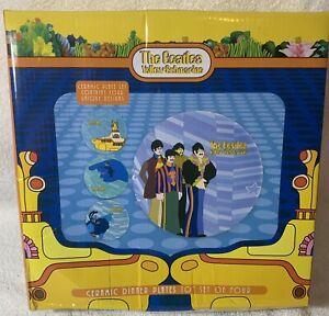 The Beatles Yellow Submarine Ceramic Plates