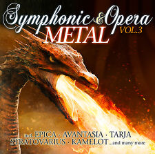 Symphonic & Opera Metal vol.3 de various artists 2cds