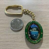 Hearst Castle California Travel Souvenir Spinner Keychain Key Ring #38052