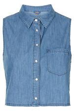TopShop Women's Classic Collar Casual Tops & Shirts