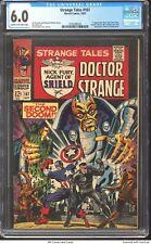 Strange Tales 161 1967 CGC 6.0 - Steranko, 1st app Silver Age Yellow Claw
