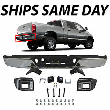 NEW Chrome - Rear Step Bumper Assembly for 2004-2009 Dodge RAM 1500 2500 3500 HD