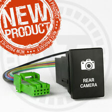 NEW Toyota Hilux REAR CAMERA SWITCH Factory Fitting design 2015-ON BLUE LED LIT