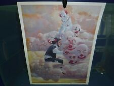 Robert Owen Cloud Of Clowns Heavenly Graffiti