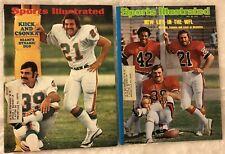 1972 Sports Illustrated MIAMI Dolphins LARRY CSONKA Memphis MIDDLE FINGER Set 2