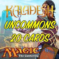 MTG Magic The Gathering Kaladesh KLD Job Lot 20 Uncommon Cards NM/M