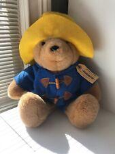 Vintage 1988 Eden Toys Sm Paddington Bear 31st Anniversary With Tags Plush