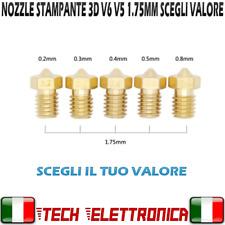 Nozzle stampante 3d Estrusore in ottone 1.75mm UGELLO Stampante 3D SCEGLI VALORE