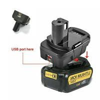 For Dewalt Milwaukee 18v Converter to Rybio  Adapter Power Tools Battery Adapter