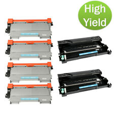 6PK TN450 Black Ink Cartridge DR420 Drum For Brother IntelliFax-2840 2940 Toner