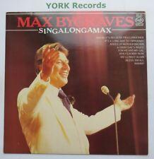 MAX BYGRAVES - SingalongaMax - Ex Con LP Record Music For Pleasure MFP 5581