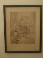 Original Drawing ELMER MESSNER 1931 Rochester Times Union Institute Technology