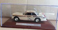 "DIE CAST "" FACEL VEGA FV "" SILVER CARS COLLECTION ATLAS SCALA 1/43"