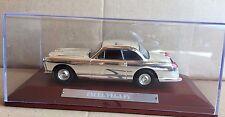 "Die Cast "" Facel Vega Fv "" Silver Cars Collection Atlas Scale 1/43"