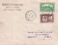 ALGERIE - GRIFFE TRANSPORTE PAR AVION A TITRE DE PROPAGANDE - ALGER 1936 - (P1