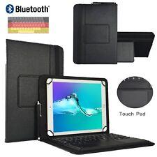 """Bluetooth Tablet Hülle TrekStor Primetab P10 WiFi Tastatur mit touchpad 10.1"""" TP"""