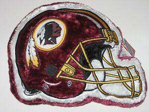 "Washington Redskins 12"" Soft Plush Himo Style Helmet Shaped Pillow FREE SHIPPING"