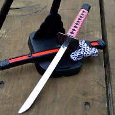 "8"" Japanese Samurai Ninja Sword Katana Letter Opener w/ Scabbard and Stand"