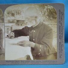 Stereoview Photo Russo-Japanese War General Baron Nogi Port Arthur China 中国