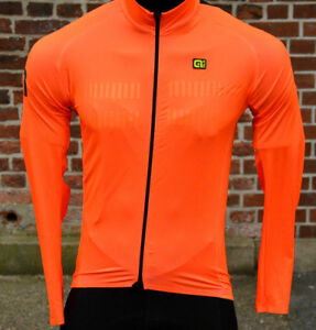 Alé Warm Air Long Sleeve Jersey Smooth Material Back Area Warm Napped