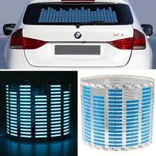 45 x 11cm Sound Music Sensor Car Auto Sticker LED Light Equalizer Glow Blue