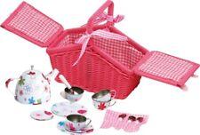 "Picknickkorb ""Blechgeschirr"", für das Puppen-Picknick"