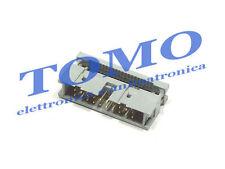 1 Connettore IDC 20 poli maschio per cavo flat crimpaggio IDC Cable c. IDC-20M2