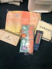 Lot of 5 Home Gift Items Calpak Packing Cubes, Caravan Rug, Whitney Kerney Mugs
