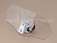 Yamaha FJR1300 FJ-09 FZ1 FZ6 Tmax Windscreen Deflector Windshield Silver Spoiler