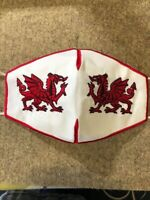 Wales , Welsh dragon , facemask washable