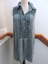 *RARE* NWT FREE PEOPLE PACIFIC BLUE TUNIC TOP S (4 6)
