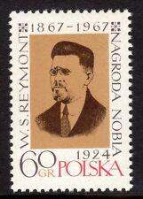 Poland - 1967 Wladyslaw Reymont - Mi. 1817 MNH
