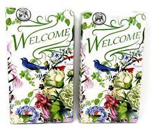 Michel Design 2 packs Guest Towels 30 3-Ply Paper Hostess Napkins Romance Nip