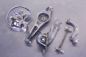 06 - 14 VW GOLF GTI REAR DRIVER LEFT STUB AXLE W/ CONTROL ARMS SET OEM 82K