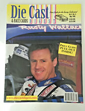 DIE CAST DIGEST & RACE CARDS Magazine May 1998 Risty Wallace