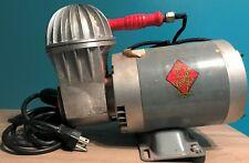 """Vtg Art Deco """"Hot Air Baloon"""" Design Paasche Air Compressor Airbrush/Tattoo"""