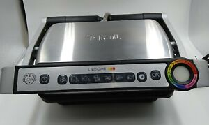 T-FAL OptiGrill Model 8351s1 Indoor Meat Grill, Fish Sausage, Panini