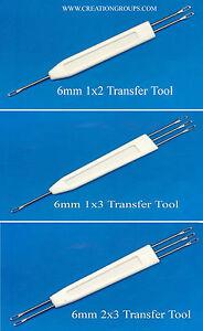 Set of 6mm Transfer Tool 1x2,1x3,2x3 for Studio MK70 &  HK160 Knitting Machine