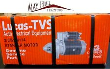 Massey Ferguson 35,65,135,148 Tractor Starter Motor (Lucas TVS) READ DESCRIPTION