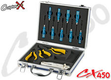 CopterX CX450-08-17 All-in-one Tools Kit Align T-rex Trex 450 SE AE