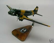 AC-47 Spooky C47 Gunship Airplane Desktop Wood Model Free Shipping Regular New