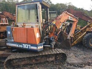 Kubota KH101 Mini Digger Excavator dismantling for parts !! Bucket Ram