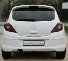 Rear bumper spoiler for VAUXHALL / OPEL CORSA D 06-10 ABS Plastic  ' OPC look ""