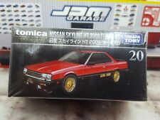 TOMICA PREMIUM #20 NISSAN SKYLINE HT 2000 TURBO RS 1/63 SCALE NEW BOX