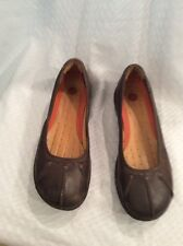EUC Structured By Clarks Women's Mules Size 7.5N Color Brown